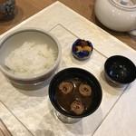 和食加藤 - ごはんと赤出汁