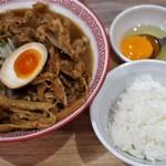 徳島ヌードル ぱどる - 料理写真:全部増し 900円、ご飯小 50円