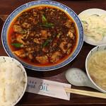 75536092 - 麻婆豆腐ランチ(´∀`)