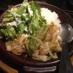 SPICY BBQ - ホルモン炒飯