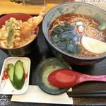 蕎麦処 大宣 - プチ天丼セット780円