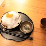 大蔵餅 - 料理写真:栗付き冷やし白玉ぜんざい