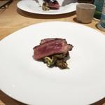 bb9 - 料理写真:☆熊本の赤牛 骨付きの熟成ロース