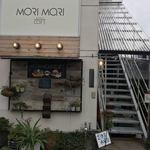 モリマリカフェ - 店内は二階で外階段から上がります!