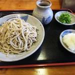 輝蕎麦 - 料理写真:2017/10/26おろしそば大盛