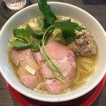 柳麺 呉田 - 料理写真:限定「狂犬SOBA~鰯達の宴~」1000円
