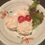 銘酒 魚の家 - ポテサラ 三個タマ