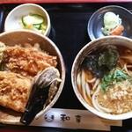 割烹処 和享 - ミニ穴子丼セット 1030円