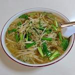 丸嶋 - 餃子ラ-メン(手打ち麺変更)