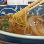 龍 - 中華そば 麺リフト