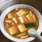 中国飯店 - 料理写真:豆腐みそラーメン