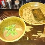 75549603 - ベジポタつけ麺 麺は極太胚芽麺です。