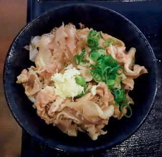 こだわり麺や 宇多津店 - 肉ぶっかけ冷
