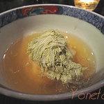 美環房 - 海老と空豆のあんかけ