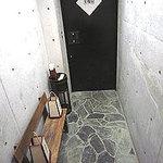 美環房 - 入り口、ドアの内側