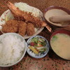 林や - 料理写真:海老とんかきミックス1350円