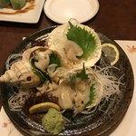 キッチン倶楽部菜好 - 活貝の3種盛り