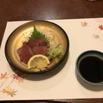 キッチン倶楽部菜好 - 蝦夷鹿のたたき