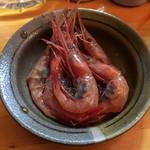たちのみいしまる - 甘海老醤油漬け450円