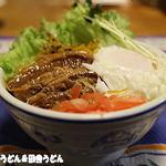 のんきや肉店 - おじさん作角煮丼