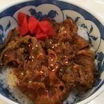 スーパーセンタートラスト イートイン - 料理写真:牛焼肉丼 460円