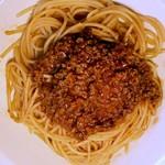 ポルポ - たっぷりひき肉のボロネーゼスパゲティ