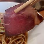 The Noodles & Saloon Kiriya - 【限定】Kiri_Soba・醤油(800円)