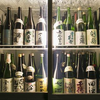 全国47都道府県ごと日本各地の厳選地酒100種以上