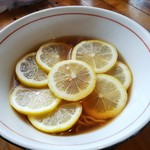 ひとしお - レモンラーメン。