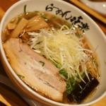 利尻らーめん味楽 - 焼き塩らーめん(900円)2017年10月