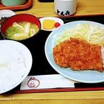 75559278 - 豚ロース定食850円