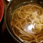 75560019 - 白海老かきあげ丼とミニ蕎麦