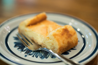 スパイス喫茶 コーヒーロー - 2017.10 チーズケーキ(400円)
