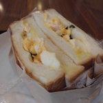 Antsukohikampani - 卵サンド側面