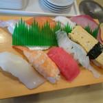 宇兵衛寿司 - にぎり並