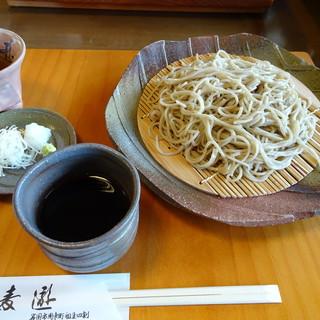 蕎麦遊 - 料理写真:もりそば