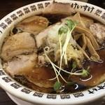 肉そばけいすけ - 料理写真:肉そば醤油大盛 ¥880-