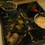 鶏割烹 ならや - 季節のコース5800円・③前菜