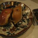 鶏割烹 ならや - 季節のコース5800円・⑤寿司