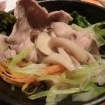 75565128 - 栗(マロン)豚の塩麹しゃぶしゃぶ