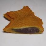 パン工房 こと葉 - たい焼き/つぶあん 断面