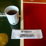 75569065 - 喫茶室:テーブルセッティング