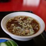 中華料理 春き - スープ