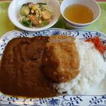 メルヘン - カツカレー(辛口)