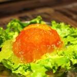 かつ好 - トマトのジュレサラダ