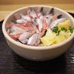 寿司 う月 - いわし丼