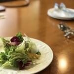 花の種 - お食事セットのシンプルサラダ