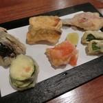 75572843 - 旬野菜の天ぷら   900円