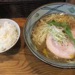 塩元帥 - 塩元帥塩らーめん(´∀`)ご飯