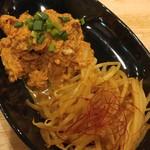 福島壱麺 - 鯖キムチ&辛もやし